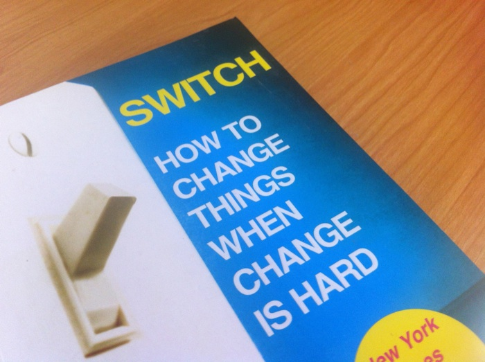 Cover of Switch by Chip and Dan Heath.