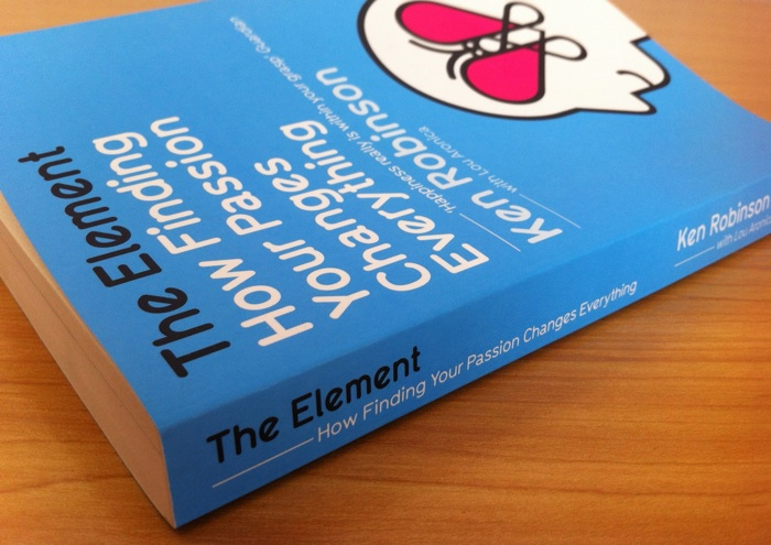 Cover of The Element by Ken Robinson.